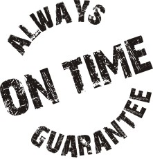 SavvyCleaner.com-always-on-time-guarantee